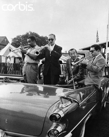 Newport 1959: Buck Clayton, PeeWee Russell, Buzzy Drootin, Ruby Braff
