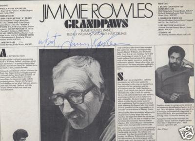 Rowles autograph
