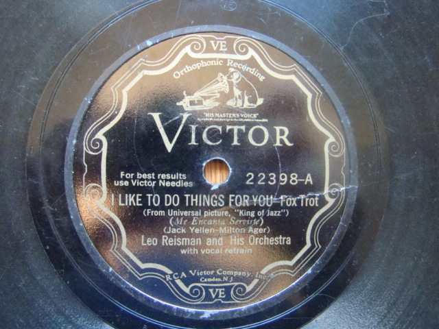 78s from Carousel 007