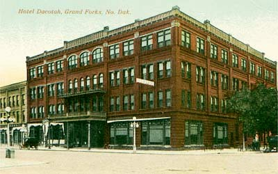 The Dacotah Hotel, before 1923