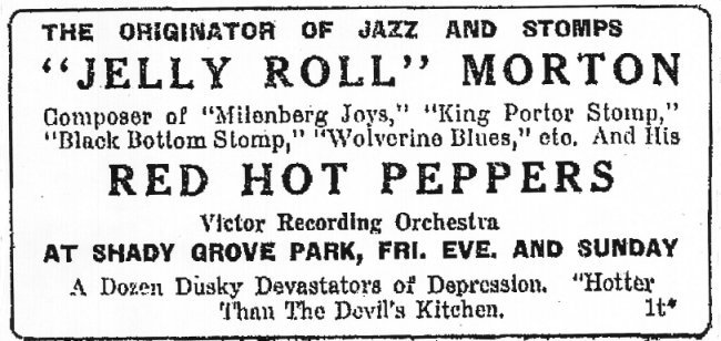 jelly 14 july 1927 ad