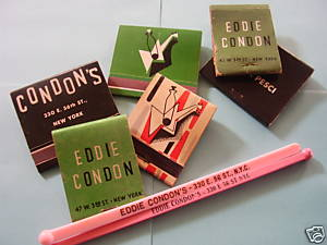 REMMEBERING EDDIE CONDON'S (on eBay)