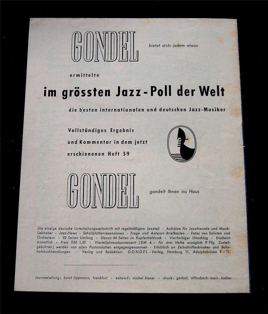 MISS BILLIE HOLIDAY, 1954: A EUROPEAN SOUVENIR | JAZZ LIVES