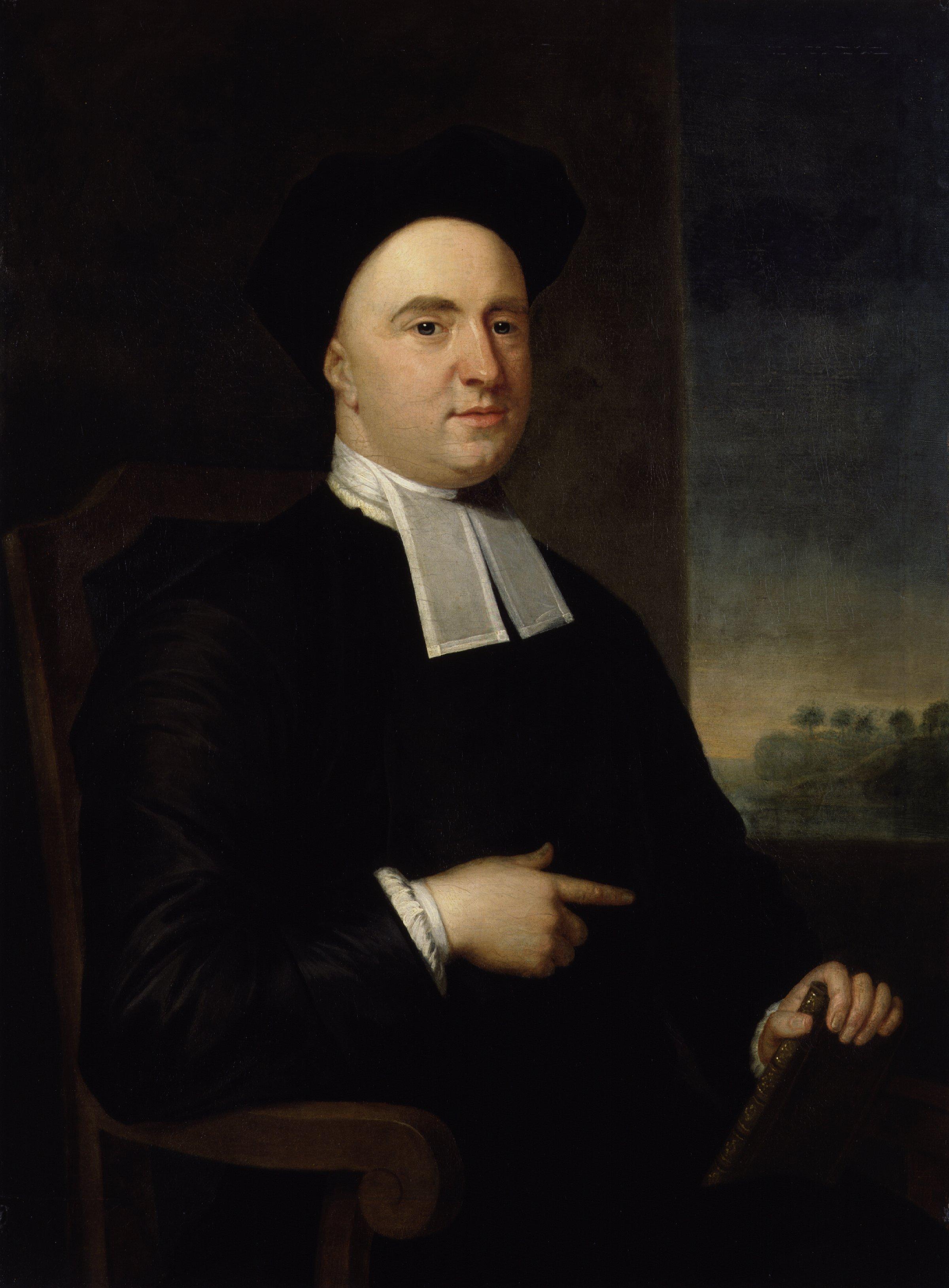 George Berkeley, Bishop of Cloyne, by John Smibert