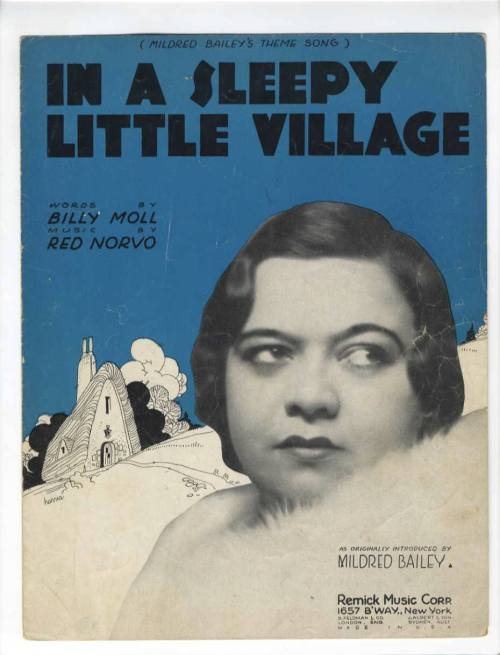 MILDRED == IN A SLEEPY LITTLE VILLAGE 1932