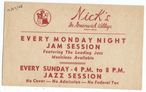 NICK's 1948