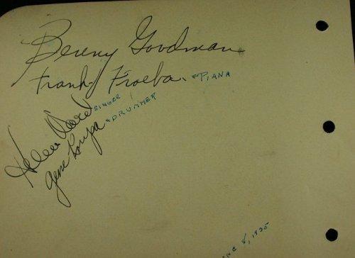 BG autographs 1935