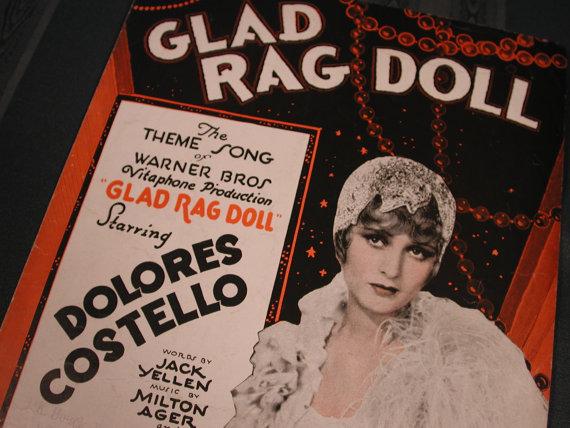 GLAD RAG DOLL 1929