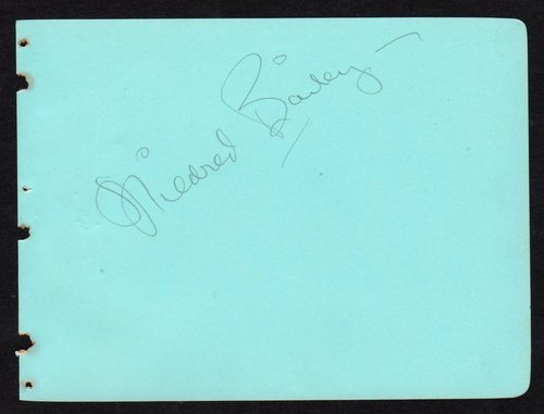 MILDRED autograph 2
