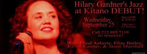 HILARY at KITANO