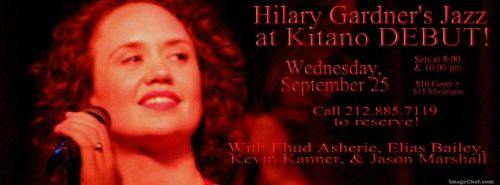 HILARY at KITANO