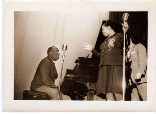 JAMES P. JOHNSON and SINGER