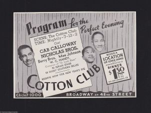 Image result for cotton club 1920