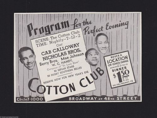 COTTON CLUB 2