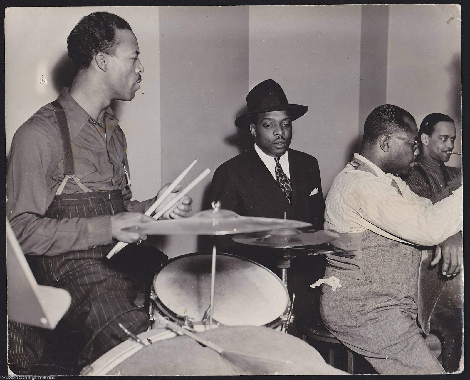 COUNT BASIE REHEARSAL 1941