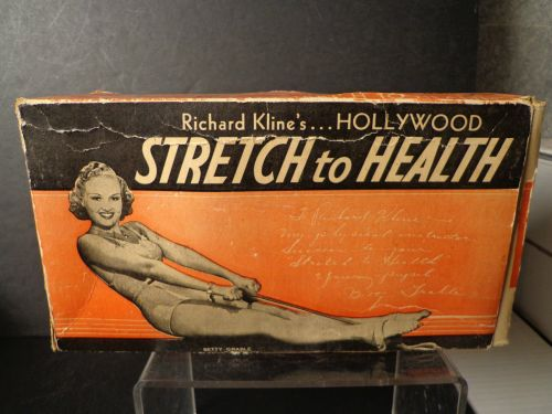 EXERCISE back BETTY GRABLE
