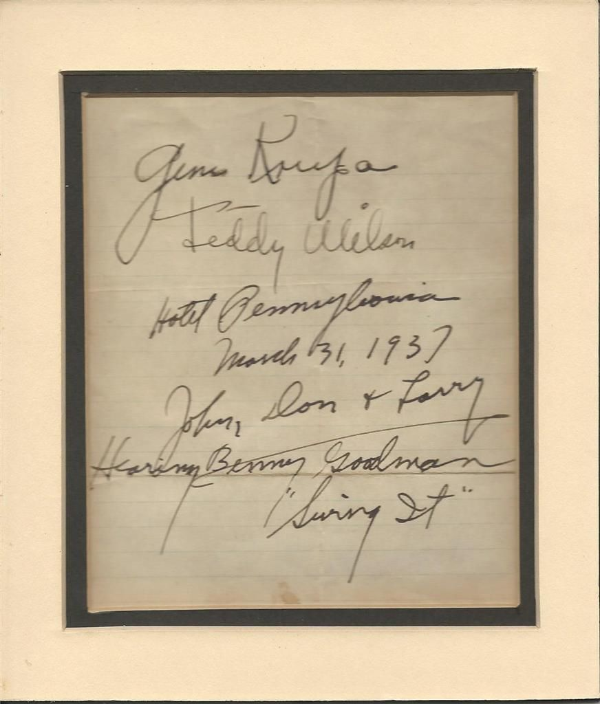 JOHN, DON AND LARRY SWING IT: MARCH 31, 1937 | JAZZ LIVES