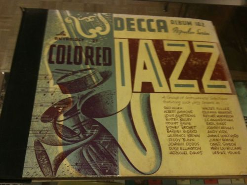 AN ANTHOLOGY OF COLORED JAZZ