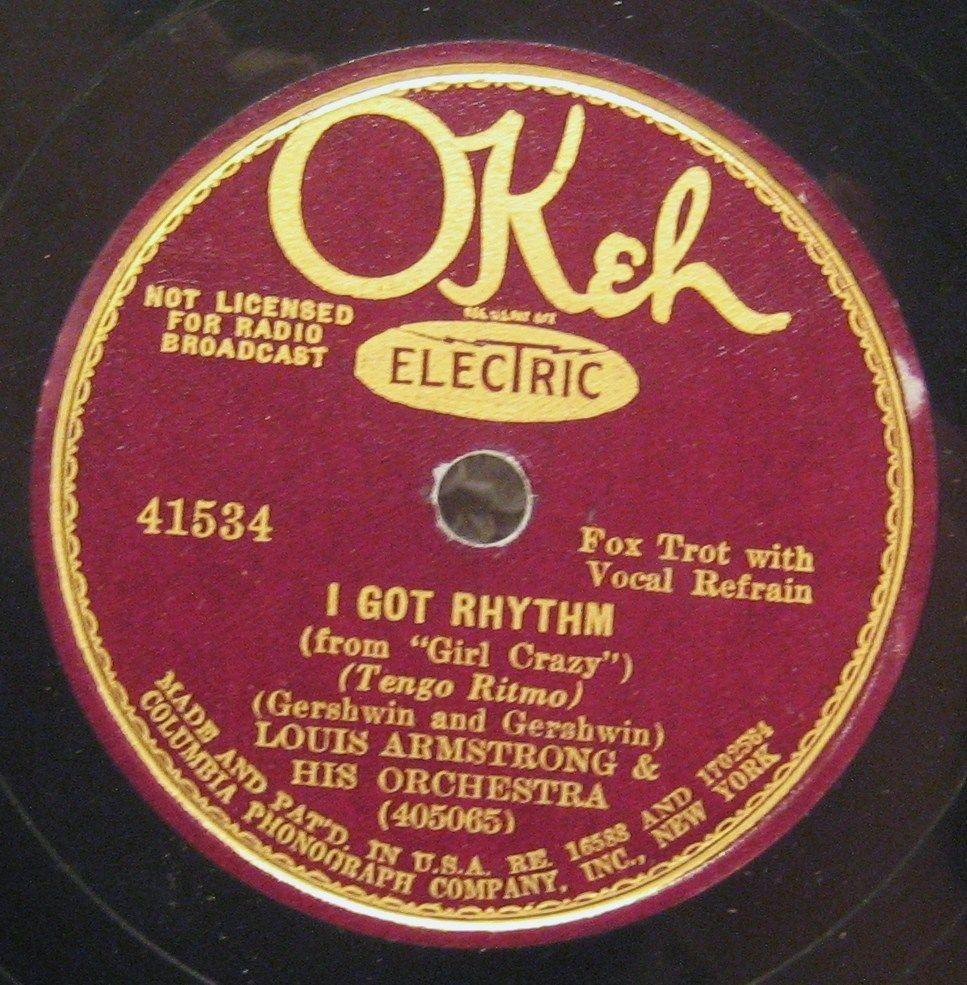 LOUIS I Got Rhythm