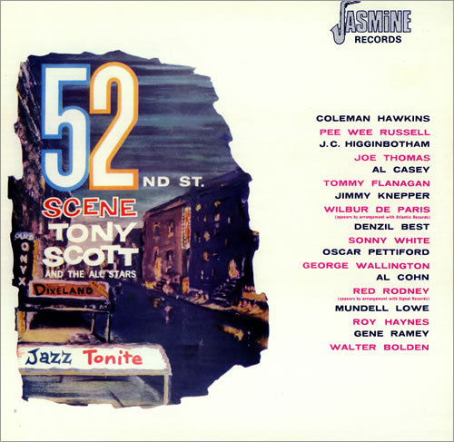 Tony+Scott+-+52nd+Street+Scene+-+LP+RECORD-443511
