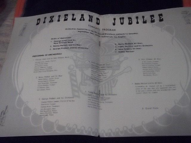 DIXIELAND JUBILEE 1956 center
