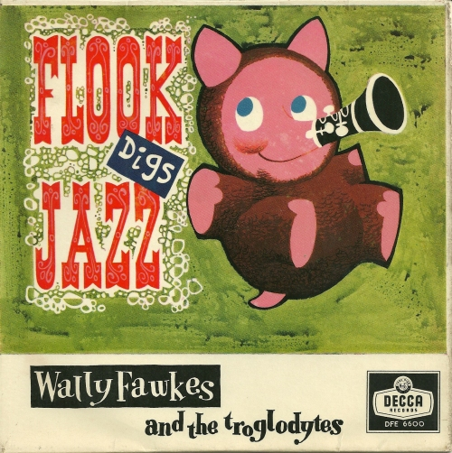 The original vinyl issue of FLOOK DIGS JAZZ on Decca