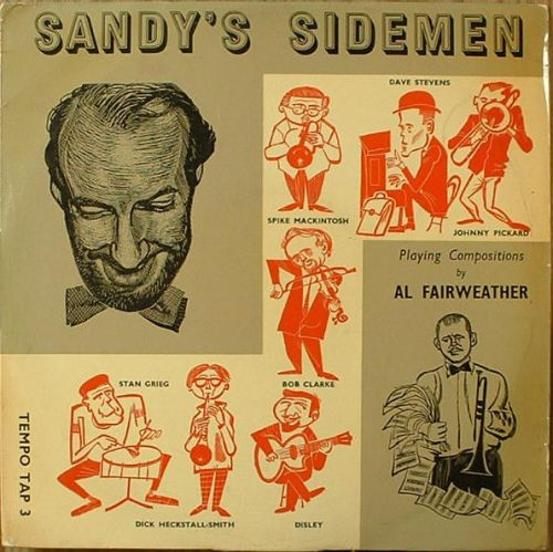 SANDY'S SIDEMEN lp cover