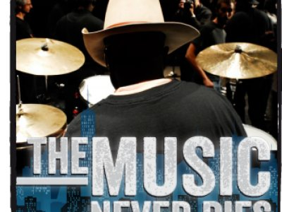 THE MUSIC NEVER DIES