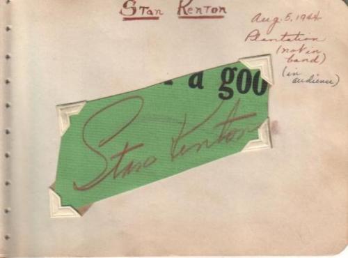 KENTON 1944 in audience
