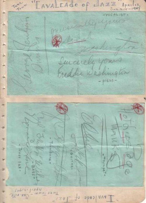 LIPS DINAH WASHINGTON 1947