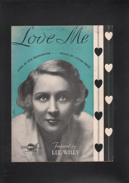 LEE WILEY 1933