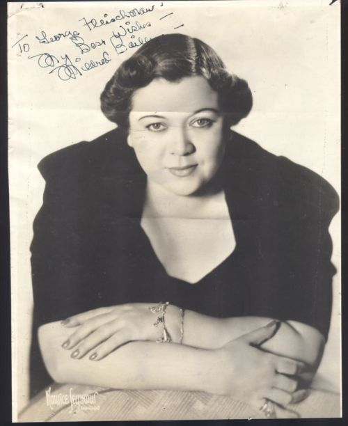 A MILDRED signed front