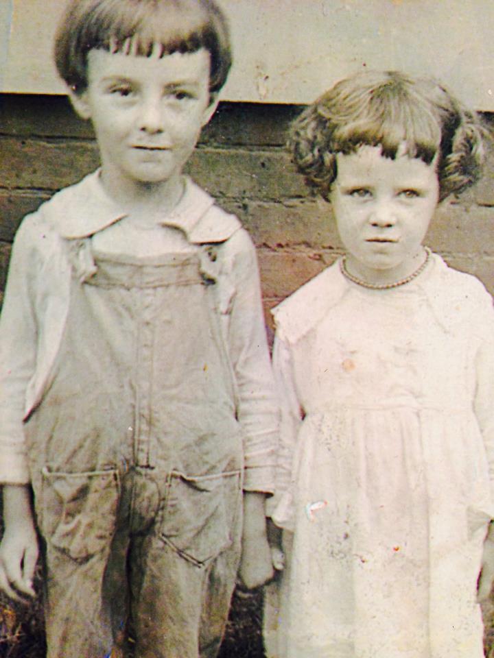 Grandpa with Aunt Dotty