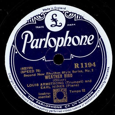 Weatherbird parlophone