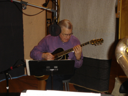 Marty in the studio, May 2008