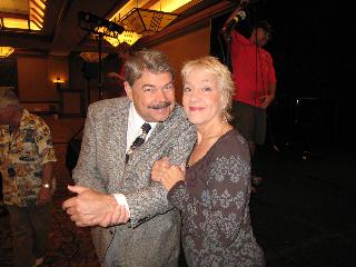 Eddie Erickson and Becky Kilgore, striking a pose in 2008