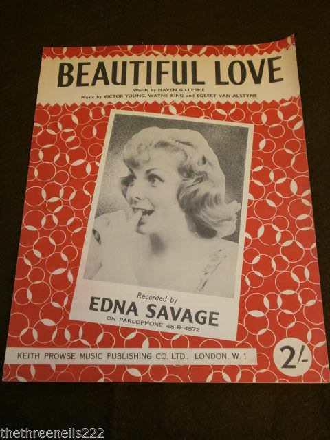 BEAUTIFUL LOVE Edna Savage
