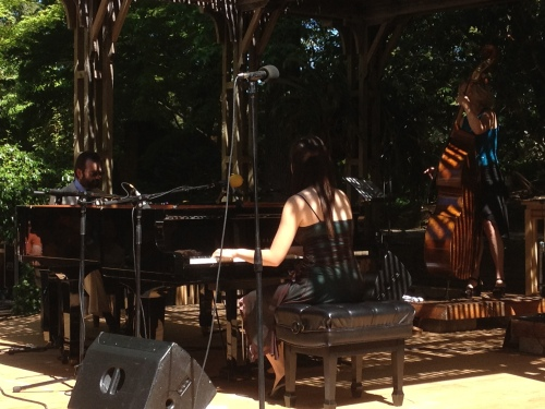 Jammin' at Filoli 2012 with Stephanie Trick, Rossano Sportiello, Nicki Parrott, Hal Smith