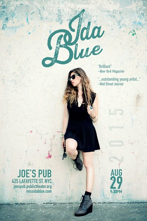 Miss Ida Blue debut blues