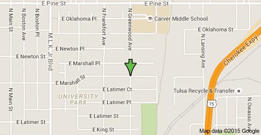 1201 N Greenwood Ave Tulsa