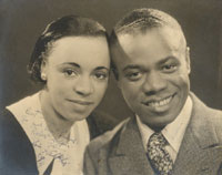 Louis and Alpha, courtesy of the Louis Armstrong House Museum