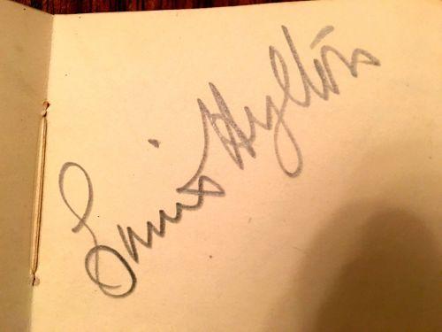 LOUIS second autograph book page 5 Hylton