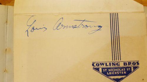 LOUIS UK autograph page 1