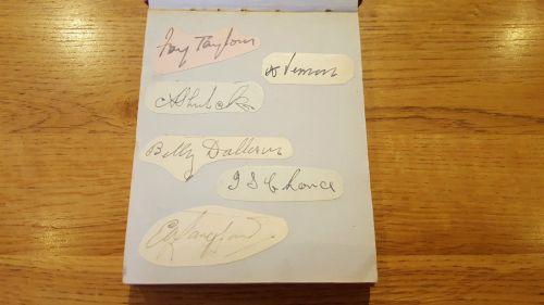 LOUIS UK autograph page 8
