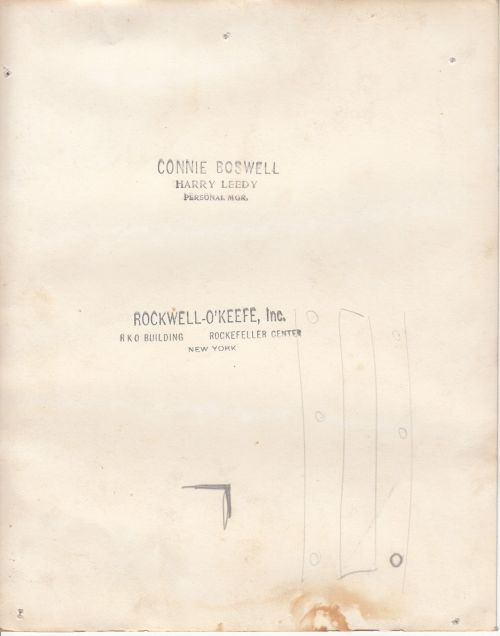 CONNIE BOSWELL to CAROL rear