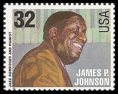 JAMES P. postage stamp