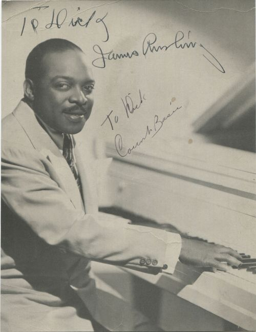 TO DICK BASIE RUSHING