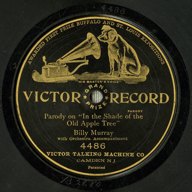 Apple Tree parody label 1905