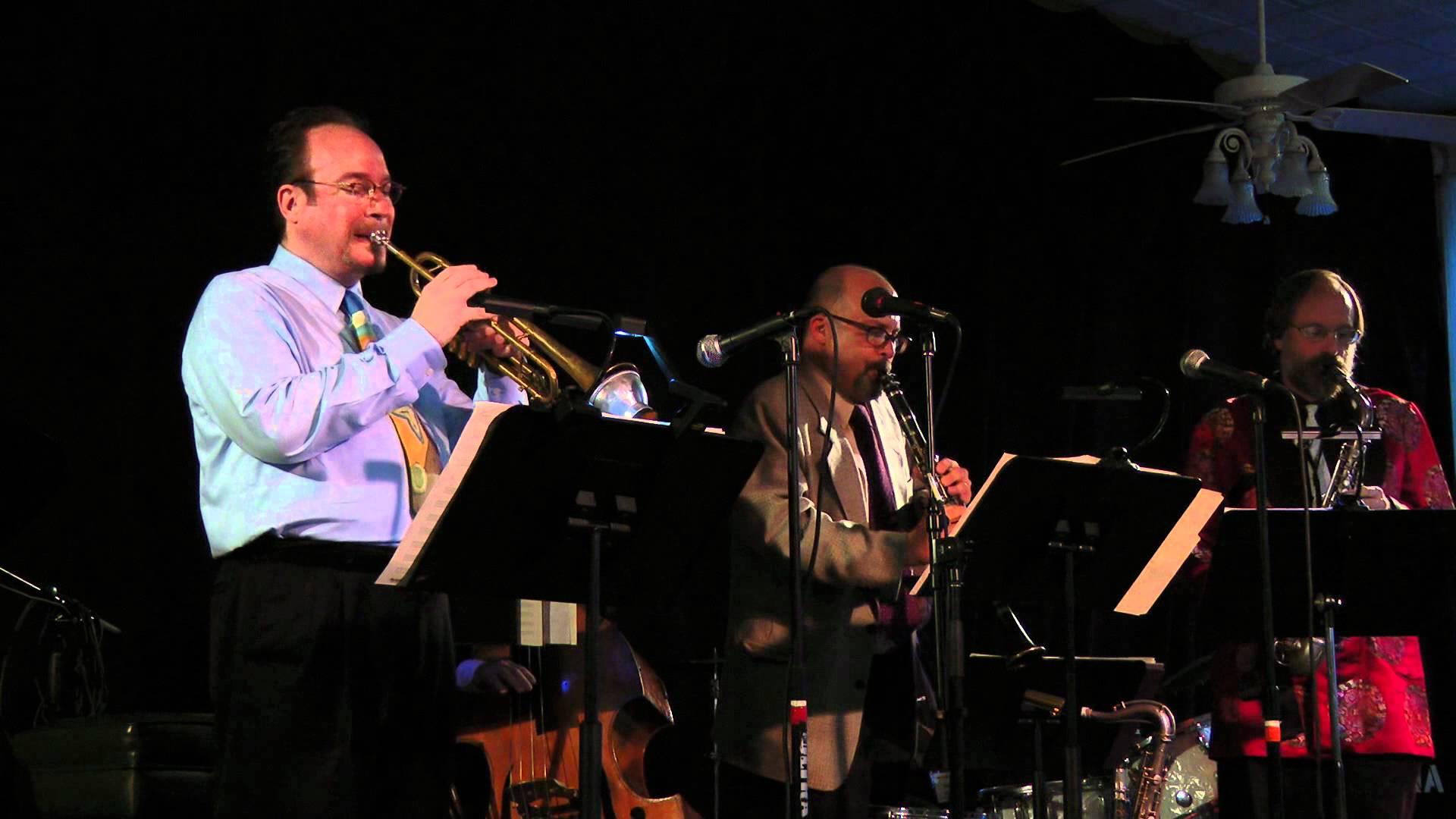 Jon-Erik Kellso, Dan Block, Scott Robinson at Jazz at Chautauqua 2011