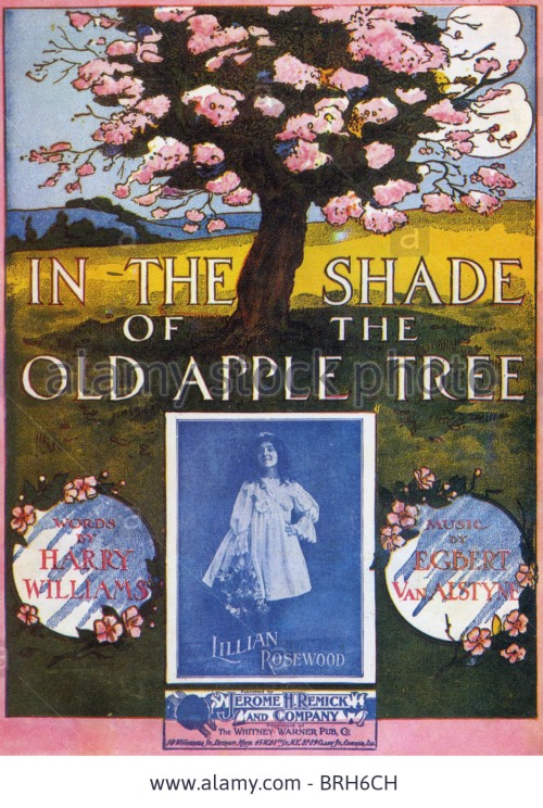in-the-shade-of-the-old-apple-tree-sheet-music-of-1910-song-by-harry-BRH6CH